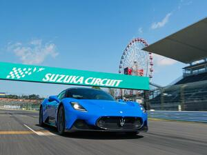 【マセラティ MC20】のネットゥーノ V6サウンドが鈴鹿サーキットに響き渡る