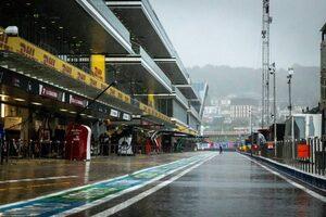 ロシアGP FP3:大雨の影響でセッションはキャンセルに。併催のF2レース1も延期
