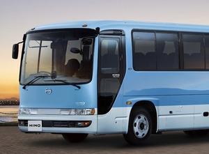 【詳細は?】日野 中型バス「メルファ」一部改良 安全性能強化