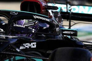 ハミルトン、ピットストップ時に14年間で初の事故「メカニックが心配で心臓が飛び出しそうになった」F1第15戦金曜