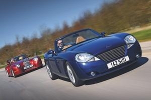 【21世紀の英国スポーツ】ジェンセンS-V8とモーガン・エアロ8 V8のロードスター 前編