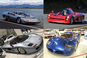 日本は「スーパーカー不毛の地」じゃなかった! F1エンジン搭載車もある圧巻の歴史