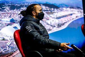 F1第15戦木曜会見:接触のことは「考えないようにしている」とハミルトン。フェルスタッペンの態度には理解も