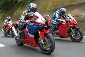 高速道路から一般道、いわゆる普通のツーリングは1000ccスーパースポーツでも楽しめるのか? CBR1000RR-R・BMW S1000RR・ドゥカティ パニガーレV4S