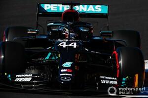 F1ボルトガルGP予選:ハミルトン、まさかの2回アタック決め鮮やかPP奪取。レッドブル・ホンダのフェルスタッペンは3番手