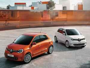 ルノー トゥインゴにオレンジ色のアクセントが映える特別仕様車「バイブス」を設定