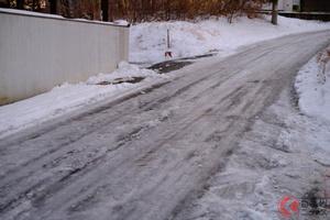 どう運転すればいい? トヨタが凍結道路の安全な運転方法をアドバイス