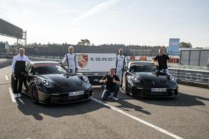 ポルシェ 新型「911 GT3」ニュルを7分切り 4月から受注開始