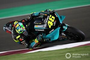 【MotoGP】2021年型YZR-M1、変化は少ない? バレンティーノ・ロッシ「昨年型ととても似ている」