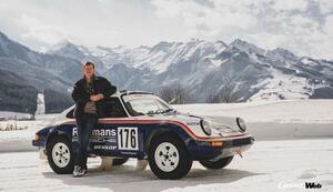 ラリー界のレジェンド、ヴァルター・ロールが「ポルシェ953」で雪原をドリフトダンス! 【動画】