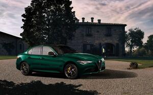 アルファロメオ・ジュリアに限定車「ヴィスコンティエディション」を設定! 歴史を感じさせるグリーンの車体色を採用