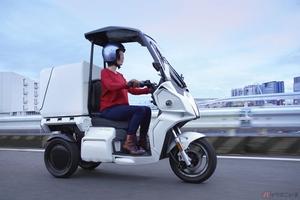 アイディア「AAカーゴα8/β8」発売 大容量バッテリーの採用で電動バイクの課題である航続距離の短さを解消