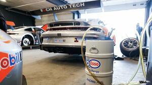 ポルシェとエクソンモービル、レースでバイオ燃料とeフューエルの実証テストをスタート