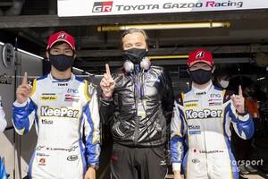 スーパーGT第1戦岡山:GT500予選はKeePer TOM'S GR Supraの阪口が起用に応え初のポールポジションを獲得