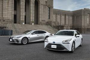 「レクサスLS」と「トヨタMIRAI」に手放し運転が可能となる高度運転支援技術「Advanced Drive」搭載車を設定し発売