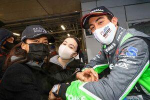 ジュリアーノ・アレジ、日本初レースで表彰台。長期的視野で御殿場でひとり暮らしを開始