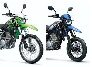 【2021速報】カワサキが米国で「KLX300」を発表! モタードの「KLX300SM」も同時に登場