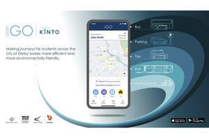 【人々の移動を支援】トヨタ 英ダービー市と共同で新サービス開始 アプリ「DerbyGo」展開