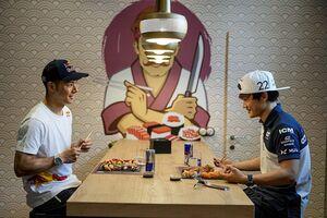 """やっぱり""""白いご飯""""は日本人にとってのエネルギー? 中上貴晶&角田裕毅が語る「食」"""