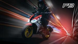 キムコが電動バイク「F9」を発表! 軽量コンパクトでエキサイティングなEVスクーターが誕生【2021速報】