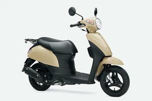 新車が16万円台で買えて燃費も抜群のおすすめ50ccバイク! かわいい系原付スクーターで最高コスパのスズキ『レッツ』にお洒落ベージュが追加!