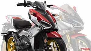 2時間充電で120km走れる! 軽量スポーティな電動バイク「KYMCO F9」が登場、REVO NEXの姿も