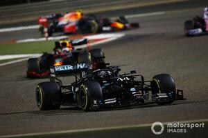 F1バーレーンGP決勝:波乱尽くしのレースをハミルトン制す。レッドブル・ホンダがダブル表彰台