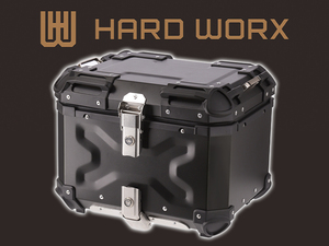 RIDEZ の新ブランド「HARD WORX」からアルミ製トップケースが4/10発売!