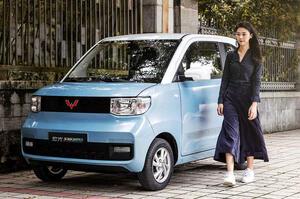 【中国市場で人気のEVは?】安価で高性能な都市型EV 4人乗り、航続距離160km