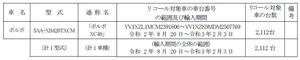 【リコール】ボルボ「XC40」のブレーキ液センサーの配線に不具合