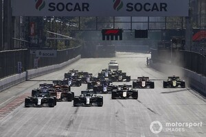 昨年は開催中止のF1アゼルバイジャンGP、2021年は無観客での開催が決定