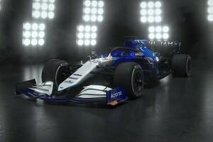 """ウイリアムズ、斬新なカラーリングの新車『FW43B』を発表。ARアプリでのお披露目は""""ハッキング""""により実現せず"""