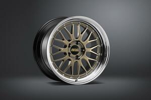 BBSから人気の鍛造ホイール「LM」の新色ゴールドカラーが期間限定で登場