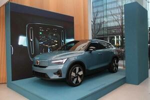 ボルボもクーペ風SUV市場に参入! ピュアEVの「C40リチャージ」を発表