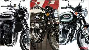 カワサキ2021新車バイクラインナップ〈大型ヘリテイジクラス|新型メグロK3 etc.〉