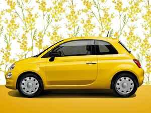フィアット 500/500Cに鮮やかなイエローの限定車「ミモザ 2」を設定