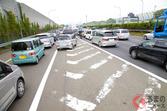 高速道路の加速車線「手前で合流」が渋滞の原因!? 「ファスナー合流」のススメ