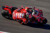 MotoGP第4戦スペインGP:初日総合トップはバニャイア。前戦で右鎖骨を痛めた中上は6番手につける
