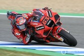 MotoGPスペインFP2:バニャイヤ、ヤマハ勢を上回るトップタイム。一方師匠のロッシ21番手に沈む