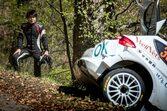 新井大輝、WRCクロアチアでのアクシデントで脊椎を骨折したことをSNSで報告
