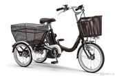 ヤマハ「PAS」シリーズ唯一の3輪モデル「PASワゴン」2021年モデル登場 アシスト性能の見直しでより快適に