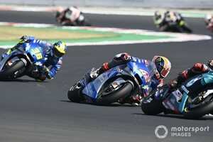 """【MotoGP】""""パーフェクト""""なスズキが今後の脅威に? クアルタラロがライバル褒めちぎり警戒"""
