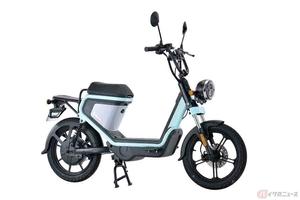電動スクーター「GEV600」プロトから登場 電アシなみの価格で高品質を実現