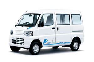 三菱 軽商用電気自動車「ミニキャブ・ミーブ」一部改良