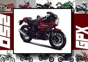 GPX「ジェントルマン レーサー200」いま日本で買える最新250ccモデルはコレだ!【最新250cc大図鑑 Vol.056】-2020年版-