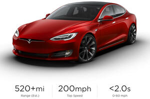 【0-97km/h加速は2.0秒以下!】テスラ・モデルSプレイド発表 航続距離830km以上の最上位モデル