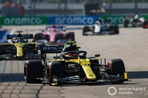 エステバン・オコン「最初のスティントのペースは強力だった」と手応え。もっと良い結果になった可能性も?|F1ロシアGP