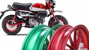 モンキー125用ゲイルスピード「アルミ鍛造ホイール」限定発売! 12本スポークで全15色