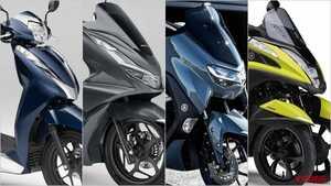 2021新型バイク総まとめ:日本車51~125cc原付二種スクータークラス
