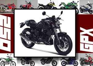 GPX「ジェントルマン200」いま日本で買える最新250ccモデルはコレだ!【最新250cc大図鑑 Vol.057】-2020年版-